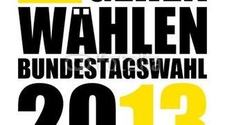 Bundestagswahl 2013 - Google, Twitter und Co. sind auch dabei