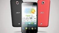 Acer Liquid S2: Full HD-Phablet mit Snapdragon 800 & 4K-Videoaufnahme