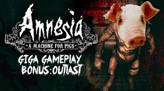 GIGA Gameplay: Amnesia & Outlast - die volle Horror-Packung!
