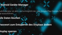 Probleme mit dem Android Geräte-Manager? So werden alle Features freigeschaltet