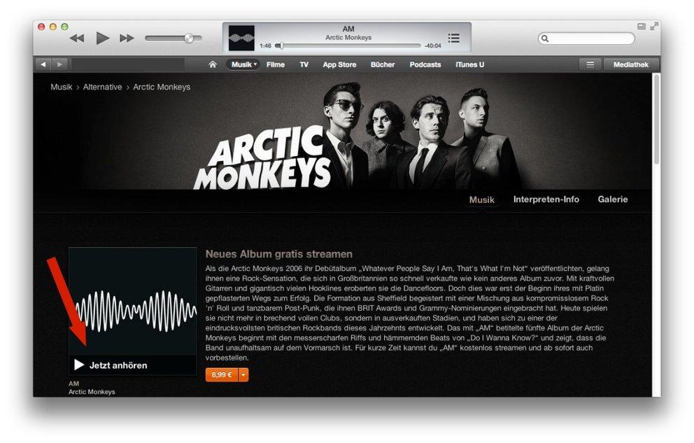 """Kostenlos: Neues Album """"AM"""" der Arctic Monkeys und Paramore im Stream"""