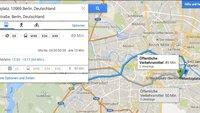 Google Maps: Verkehrsinformationen für den kompletten Verkehrsverbund Berlin-Brandenburg integriert