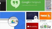 Google Chrome Erweiterungen installieren - Anleitung