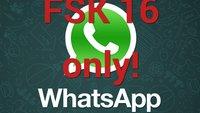 WhatsApp ist erst freigegeben ab 16 Jahren!