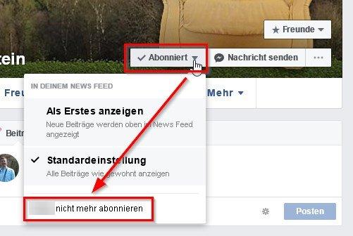 Facebook-Freunde-entfolgen