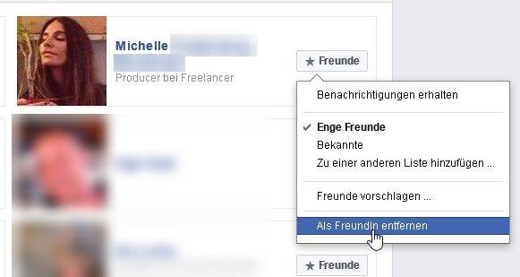Freunde Auf Facebook Löschen