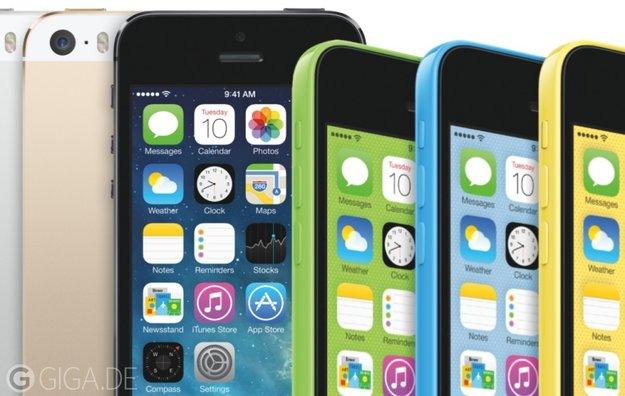 iPhone 5s und iPhone 5c: Die Funktionen der Apple-Smartphones im Überblick