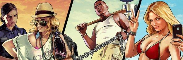 GTA 5: Führt Xbox Live- und PSN-Charts an, drei Charaktere schon bei San Andreas geplant