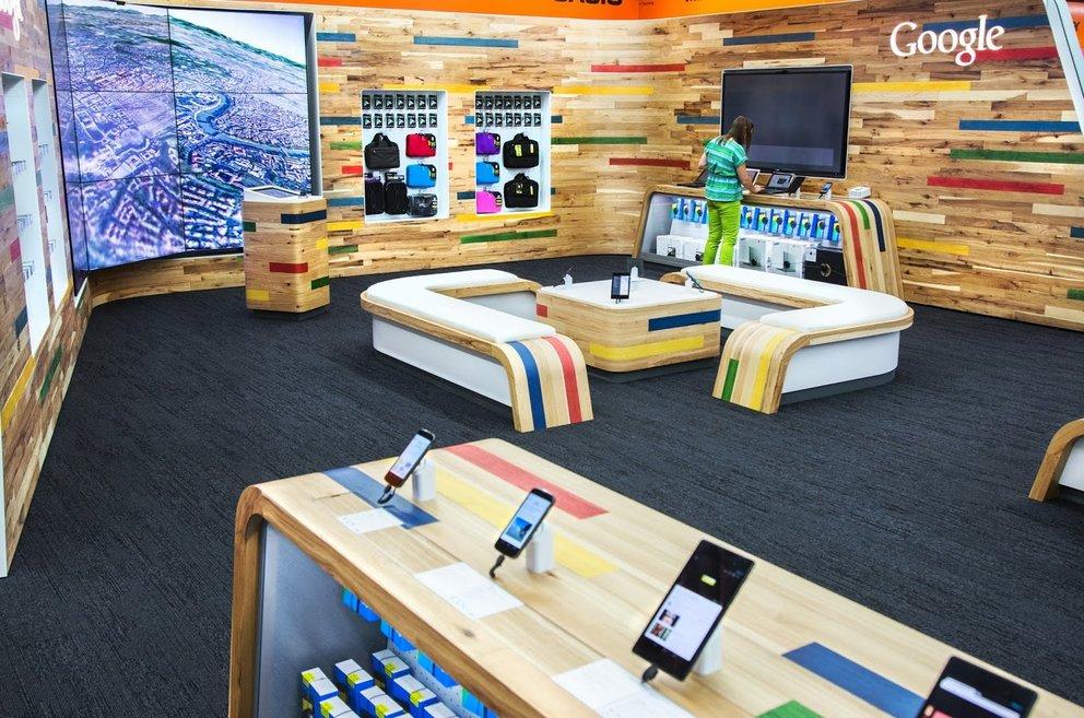 Erster Google Shop-in-Shop eröffnet!