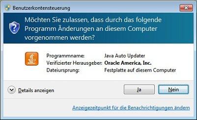 Java Auto Updater