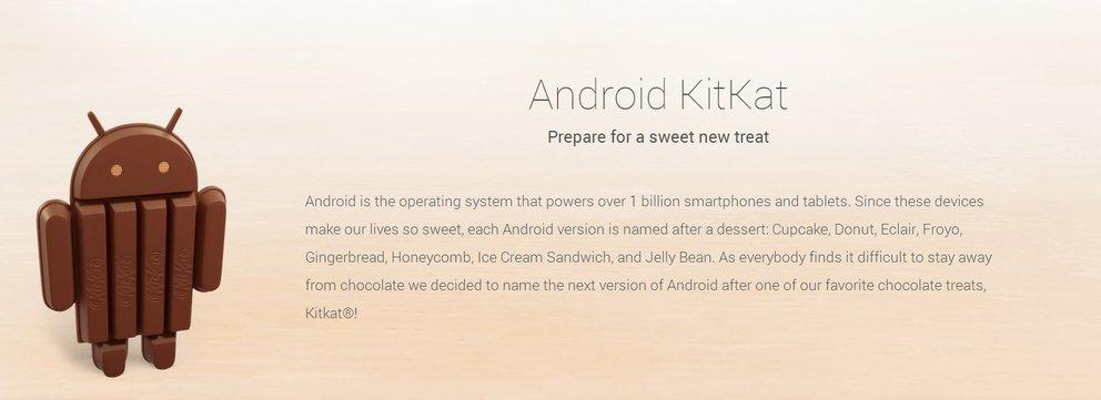 Android 4.4 wird KitKat heißen - ohne Witz