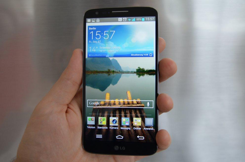 LG G2 im Test: Mit Buttons am Rücken auf den Smartphone-Olymp? – GIGA
