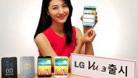 LG Vu 3: 4:3-Phablet mit Snapdragon 800 vorgestellt