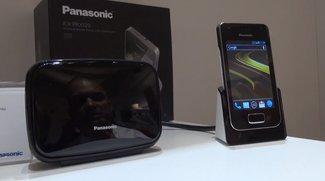 Panasonic: Festnetz-Telefone mit Android im Hands-On [IFA 2013]