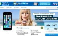 iPhone 5s mit Base all-in plus für 50 Euro pro Monat - sofort lieferbar -