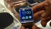 Samsung Galaxy Gear: Lifestyle-Smartwatch im Hands-On-Video [IFA 2013]