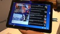Samsung Galaxy Note 10.1 2014: Über HD-Tablet mit Snapdragon 800 im Hands-On-Video [IFA 2013]