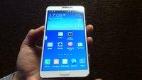 Samsung Galaxy Note 3: Hands-On-Video vom neuen 5,7 Zoll-Phablet mit Stylus [IFA 2013]