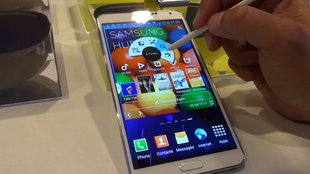 Samsung Galaxy Note 3: S Pen und Software-Features im Hands-On-Video [IFA 2013]