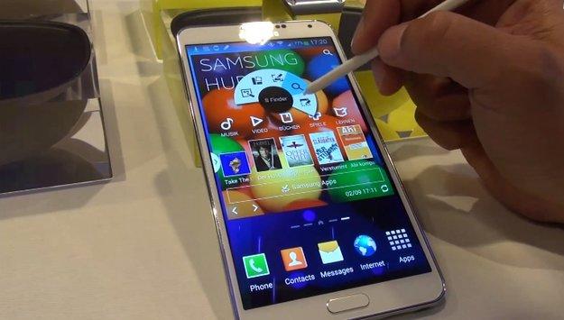 Samsung Galaxy Note 3: Günstigeres Modell mit LCD-Screen soll im November kommen