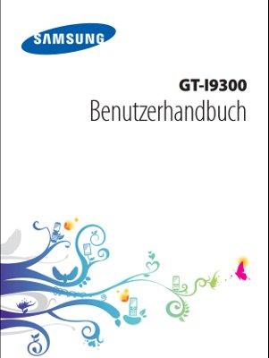 Samsung Galaxy S3 Handbuch