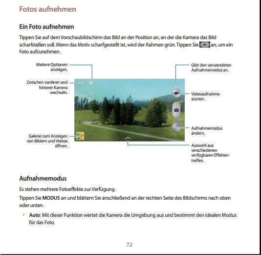 Samsung Galaxy S4 mini Handbuch