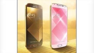 Galaxy S4 in Gold: Was Apple kann, kann Samsung auch