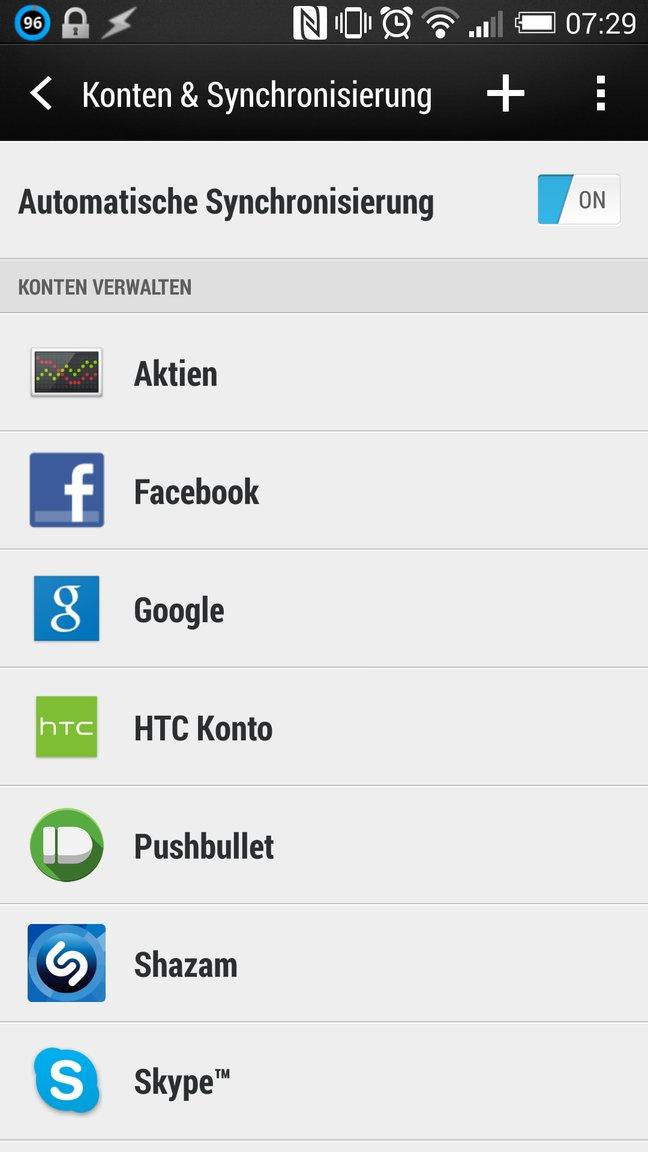 Smartphone Akku sparen durch Deaktivierung der Hintergrunddienste