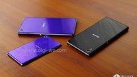 Sehen wir hier das Sony Xperia Z1 mini in Lila?