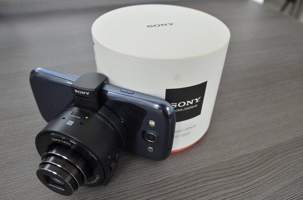 Sony Smart-shot DSC-QX10: Aufsteckkamera ausprobiert [Unboxing &amp&#x3B; Testbilder]