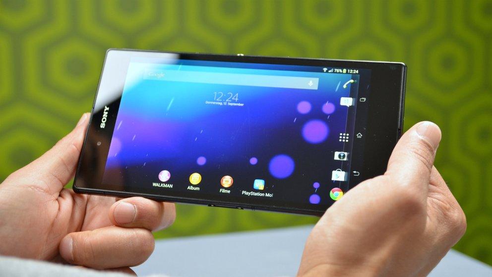 Sony Xperia Z Ultra im Test: Riesig — in jeder Beziehung
