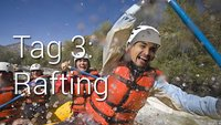 Samsung Xcover Camp Tag 3: Rafting im Val die Sole
