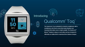 Qualcomms Smartwatch Toq ab 2. Dezember verfügbar