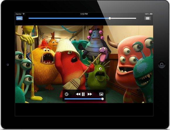 VLC für iOS iPad