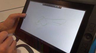Wacom Cintiq Companion Hybrid: Grafiktablet mit Tegra 4 im Hands-On [IFA 2013]