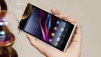 Sony Xperia Z1 offiziell vorgestellt