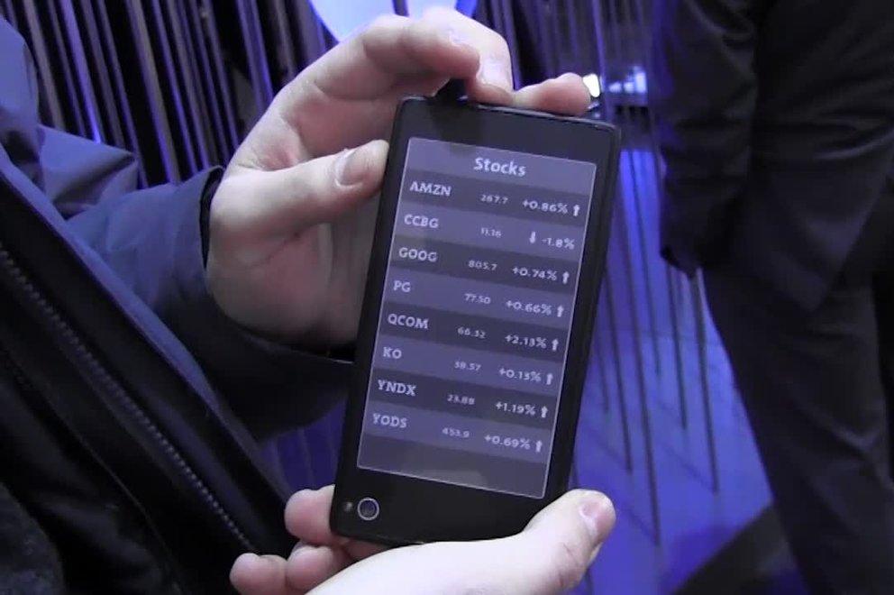 Das YotaPhone kommt im November