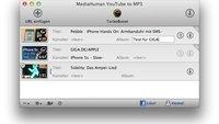 YouTube to MP3 für Mac: Youtube-Videos als Musik abspeichern