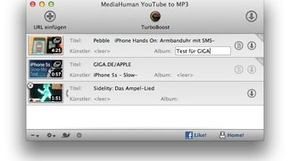 YouTube to MP3 für Mac: Youtube-Videos als Musik abspeichern