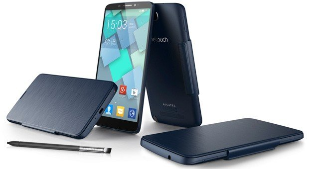 Alcatel One Touch Hero: Smartphone mit E-Ink- und LED-Cover vorgestellt [IFA 2013]