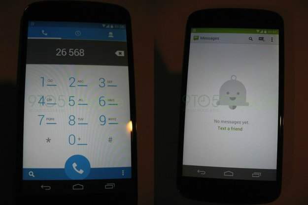 Android 4.4: Zeigen diese Fotos echte KitKat-Screens?