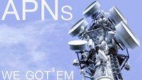 Internet-Einstellungen für o2, T-Mobile, Vodafone, E-Plus: Die richtigen APNs in der Übersicht