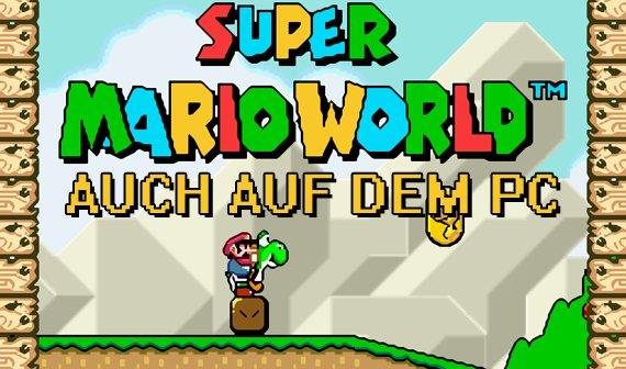 SNES-Emulator für PC und Android: Super Mario World und Co. noch einmal in schön, bitte