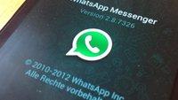 WhatsApp Kontakte können bald geblockt werden (Update)