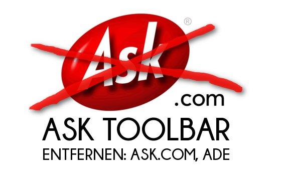 Ask Toolbar Entfernen