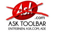 Ask Toolbar entfernen: Ask.com aus dem Browser tilgen