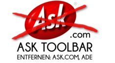 Ask Toolbar entfernen: Ask.com aus dem Browser tilgen