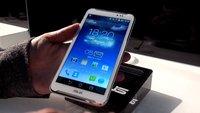 ASUS FonePad Note 6: Full HD-Phablet mit Stift und ohne LTE im Hands-On [IFA 2013]