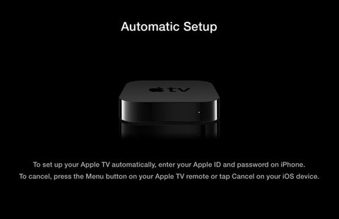 Apple TV Touch Setup
