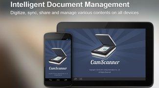 CamScanner Pro: Vollversion des Dokumentenscanners zurzeit kostenlos